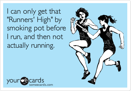 "Replace ""smoking pot"" with ""eating fried chicken"" or ""eating a bunch of chocolate,"" and. . . Guilty!"