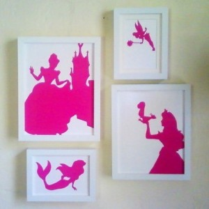 set-of-4-princess-silhouettes