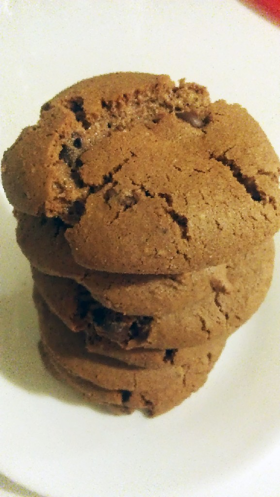 nutella cookies overbaked