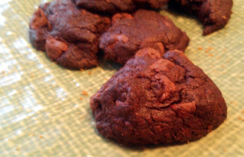 nutella truffle cookie