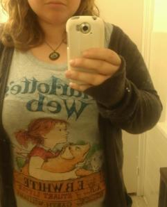 charlotte's web shirt