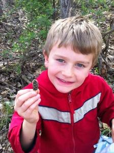 My nephew, junior morel hunter