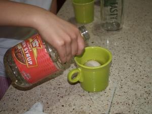 Yuck, corn syrup.