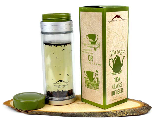 Tea-To-Go Glass Infuser
